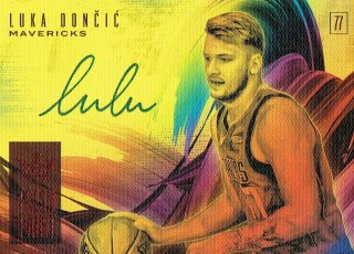 2018-19 COURT KINGS Auto Luka Doncic【99枚限定】えびすスポーツカード VC様