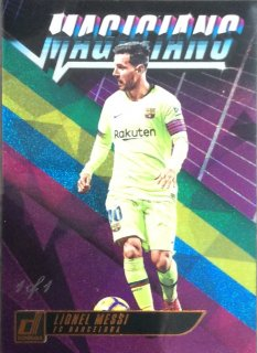 2018-19 Panini Donruss Magicians Purple Lionel Messi【1of1】 / MINT広島店 YKN様[6月]