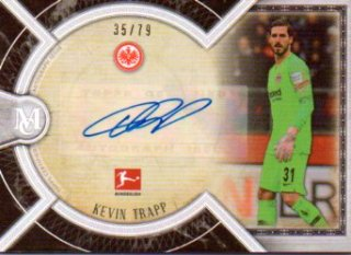 2018-19 Topps Museum Collection Bundesliga Archival Autographs Kevin Trapp 79枚限定/MINT三宮店 スリザリン様【6月】