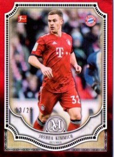 2018-19 Topps Museum Collection Bundesliga Base Ruby Joshua Kimmich 25限定/MINT三宮店 スリザリン様【6月】