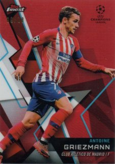 2018-19 Topps Finest UEFA Champions League Red Parallel Antoine Griezmann 10枚限定/MINT池袋店 さらばやっすん様【6月】