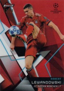 2018-19 Topps Finest UEFA Champions League Red Parallel Base Lewandowski 10枚限定/MINT池袋店 クリンスマン様【6月】