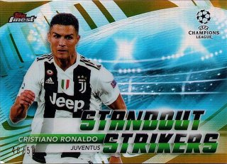2018-19 Topps Finest UEFA Champions League Gold Standout Strikers C.Ronaldo 50枚限定/MINT池袋店 ラーム様【6月】