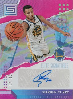 18-19 Panini Status Elite Signatures Stephen Curry 25枚限定/MINT池袋店 zukkiy14様【7月】