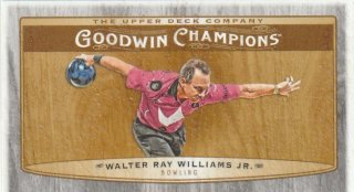 2019 UPPER DECK GOODWIN CHAMPIONS Base Minis Walter Ray Williams Jr. 【8枚限定】/ MINT新宿店 とみち様[7月]