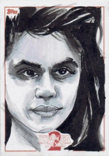2019 TOPPS STRANGER THINGS SEASON2 Sketch Card 【1of1】 / MINT立川店 原田哲様[8月]