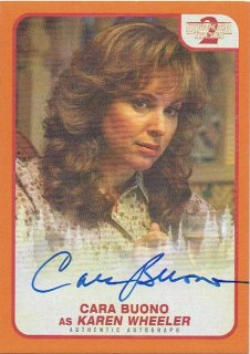 2019 TOPPS STRANGER THINGS SEASON2 Auto Orange Cara Buono 【90枚限定】 / MINT立川店 原田哲様[8月]
