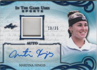 2019 Leaf In The Game Used Auto Jersey Martina Hingis 【35枚限定】 / MINT吉祥寺店 トッティ様 [8月]