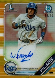 2019 BOWMAN Chrome Prospect Autographs Gold WANDER FRANCO【50枚限定】 / MINT横浜店 AKATEN様 [8月]