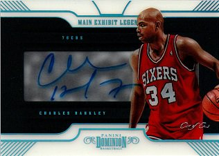 2018-19 Dominion Main Exhibit Legends Auto Platinum CHARLES BARKLEY【One of One】 / MINT横浜店 横浜三昧様 [8月]