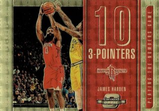 2018-19 CONTENDERS OPTIC Gold Vinyl James Harden【1枚限定】えびすスポーツカード KW様 [8月]