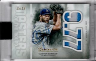 2019 Topps Luminaries Autograph Clayton Kershaw【15枚限定】MINT福岡店 けちゃ様[9月]
