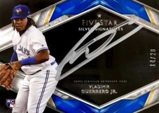 2019 TOPPS Five Star Silver Signatures Vladimir Guerrero Jr. 【20枚限定】 / MINT浦和店 日曜日は浦和店様[9月]