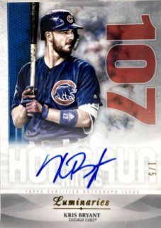 2019 TOPPS Luminaries Autographs Kris Bryant 【1/5 1ST NO.】 / MINT浦和店 日曜日は浦和店様[9月]