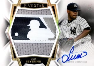 2019 TOPPS Five Star Autographed Jumbo Patch Luis Severino 【1of1】 / MINT浦和店 日曜日は浦和店様[9月]