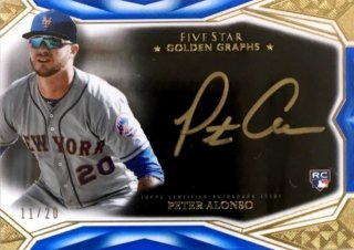 2019 TOPPS Five Star Silver Signatures Peter Alonso 【20枚限定】 / MINT浦和店 日曜日は浦和店様[9月]