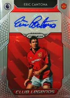 2019-20 Panini Prizm Premier League Club Legends Signatures Eric Cantona MINT福岡店 RVP様[9月]