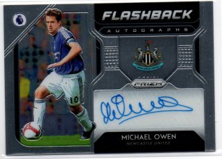 2019-20 Panini Prizm Premier League Soccer Flashback Autographs  Michael Owen /MINT池袋店 クリンスマン様【9月】