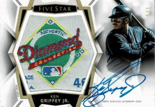 2019 TOPPS Five Star Patch Signatures Ken Grify Jr. 【1枚限定】 / MINT渋谷店 渋谷民等様[9月]