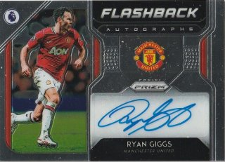 2019-20 PANINI PRIZM Premier League Flashback Autograph  Ryan Giggs /MINT新宿店 アンソニー様[10月]
