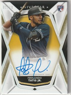 2019 TOPPS Five Star  Autographs Gold  Fernando Tatis Jr 【10枚限定】 / MINT新宿店 satoshinew 様[9月]