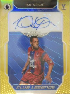 2019-20 PANINI PRIZM PREMIER LEAGUE Club Legend Signature Gold I.Wright 【10枚限定】/ MINT立川店 GEIR様[9月]