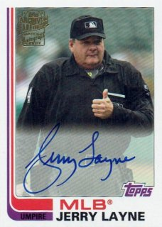 2019 TOPPS ARCHIVES Fan Favorites Autograph Card  Jerry Layne / MINT立川店 わかめ様[9月]