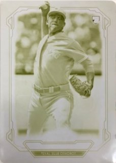 2019 TOPPS Bowman Sterling Yellow Printing Plate Ryan Borucki 【1of1】 / MINT浦和店 乱射魔さしみ様[9月]