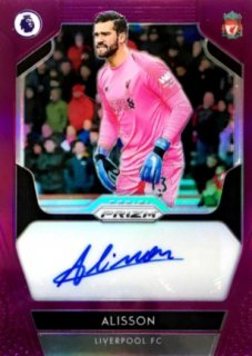 2019-20 Prizm Premier League Signatures Purple Alisson 【01/99 1ST NO.】 / MINT浦和店 プジョール様[9月]