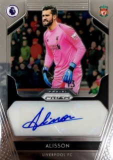 2019-20 Prizm Premier League Signatures Alisson / MINT浦和店 KAEDE様[9月]