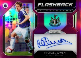 2019-20 Prizm Premier League Flashback Autographs Purple Michael Owen 【99枚限定】 / MINT浦和店 KAEDE様[9月]
