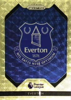 19-20 Panini Prizm Premier League Team Logo (Gold Power) Everton【5枚限定】 MINT梅田店 お母さんマッサージ様[10月]
