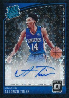 2018-19 Panini Donruss Optic Black Auto Allonzo Trier【1枚限定】/Rookie Star店 RS2様[10月]