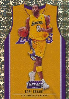 2018-19 Panini Threads Gold Kobe Bryant【10枚限定】/Rookie Star店 RS2様[10月]