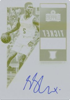2018-19 Panini Contenders Optic RC Plate Auto Shai Gilgeous-Alexander【1枚限定】/Rookie Star店 RS9様[10月]
