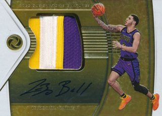 2018-19 Panini Opulence Patch Auto Lonzo Ball【25枚限定】/Rookie Star店 RS12様[10月]