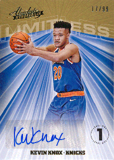 2018-19 Panini Absolute Memorabilia RC Auto Kevin Knox【99枚限定】/Rookie Star店 RS18様[10月]