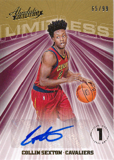 2018-19 Panini Absolute Memorablia RC Auto Collin Sexton【99枚限定】/Rookie Star店 RS18様[10月]