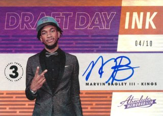 2018-19 Panini Absolute RC Level 3 Auto Marvin Bagley【10枚限定】/Rookie Star店 RS18様[10月]