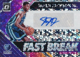 2018-19 Panini Donruss Optic RC Auto Jaren Jackson Jr./Rookie Star店 RS18様[10月]