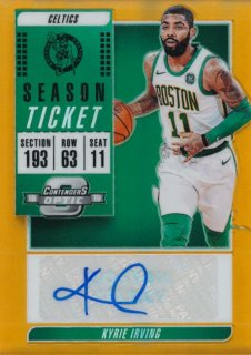 2018-19 Panini Contenders Optic Orange Auto Kyrie Irving【49枚限定】/Rookie Star店 RS103様[10月]