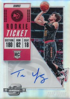 2018-19 Panini Contenders Optic RC Auto Trae Young/Rookie Star店 RS103様[10月]