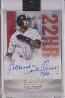 2019 Topps Luminaries Homerun Kings Auto Bernie Williams【10枚限定】/ミントポニーランド店 Shin8様[10月]