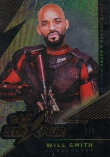 2019 Cryptozoic CZX Super Heroes & Super-Villains STR PWR Will Smith【1of1】MINT梅田店 デューク東郷様[12月]