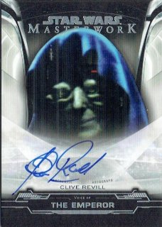 2019 TOPPS STAR WARS MASTER WORK Autograph Card Clive Revill / MINT立川店 オラフ様[11月]