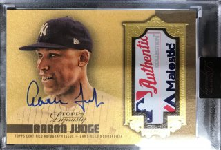 2019 Topps Dynasty Autograph Relic Gold Parallel Aaron Judge【1of1】 /ミント池袋店 ヨッシャー!様