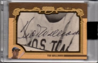 2019 TOPPS Dynasty Cut Signatures TED WILLIAMS【1of1】 / MINT横浜店 AKATEN様 [12月]