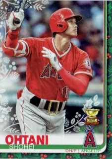 2019 TOPPS HOLIDAY MEGA BOX Short Print Variation Card Shohei Ohtani(1:161) / MINT立川店 あずじぃ様[1月]