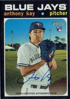 2020 TOPPS HERITAGE Autograph Card Anthoney Kay / MINT立川店 Oしゃん様[3月]
