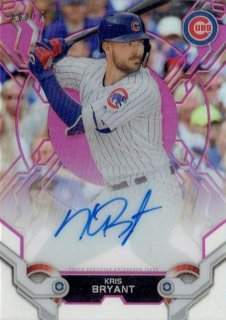 2019 TOPPS HIGH TEK Autograph Card Pink Kris Bryant 【75枚限定】 / MINT立川店 Oしゃん様[3月]